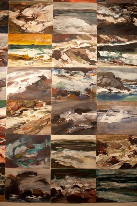 WALL OF SEASCAPES